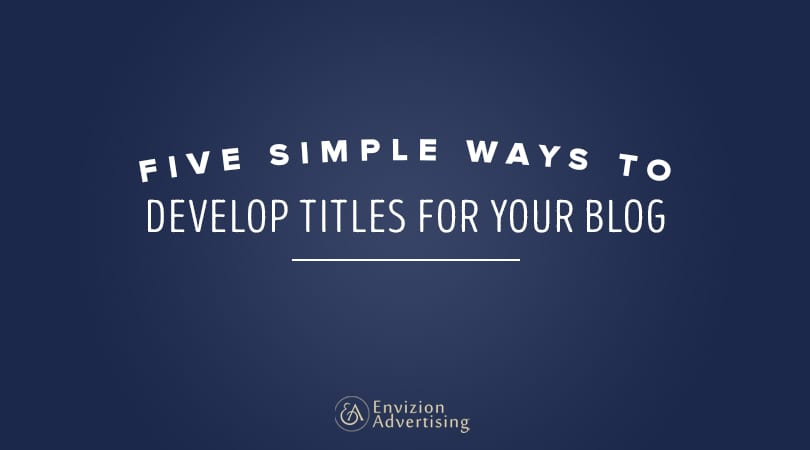Learn 5 simple ways in creating the best title for your content!