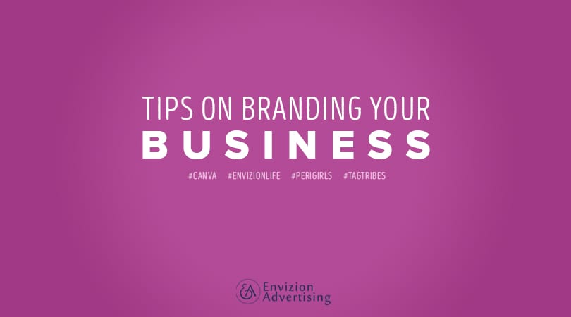 Learn 3 tips on branding your business