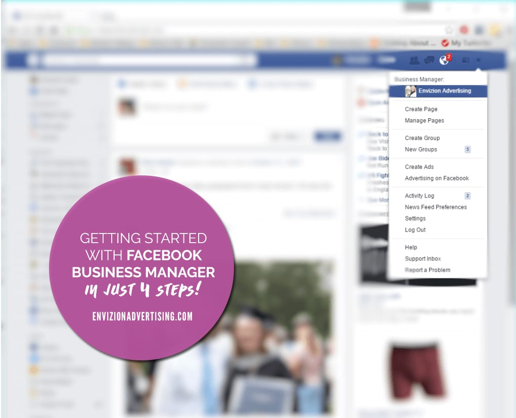 Start using facebook business manager with these 4 easy steps!