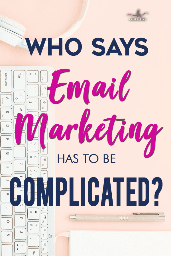 Who says email marketing has to be complicated? With so many parts and pieces, plans and strategies, it's hard to know where to start and what really matters most. That's why we wrote the book on it. #emailmarketing #EmailMarketingStrategy #EmailMarketingTips #Convertkit