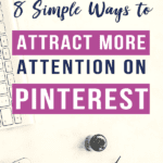 8 Steps to Grow Your Business With Pinterest. Pinterest will completely change your business. And there are tons of great ways to grow your business with Pinterest that don't require a ton of time! #PinterestMarketing #PinterestforBusiness #Pinterest #Blogging
