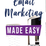 Who says email marketing has to be complicated? With so many parts and pieces, plans and strategies, it's hard to know where to start and what really matters most. #emailmarketing #EmailMarketingStrategy #EmailMarketingTips #Convertkit
