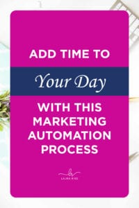 Add Time To Your Day With This Marketing Automation Process