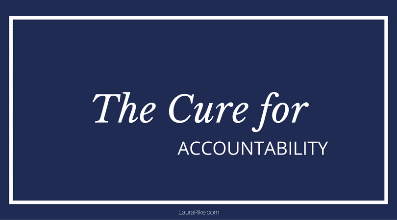 Masterminds: The Cure for Accountability - Laura Rike