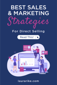 BEST SALES & MARKETING STRATEGIES For Direct Selling