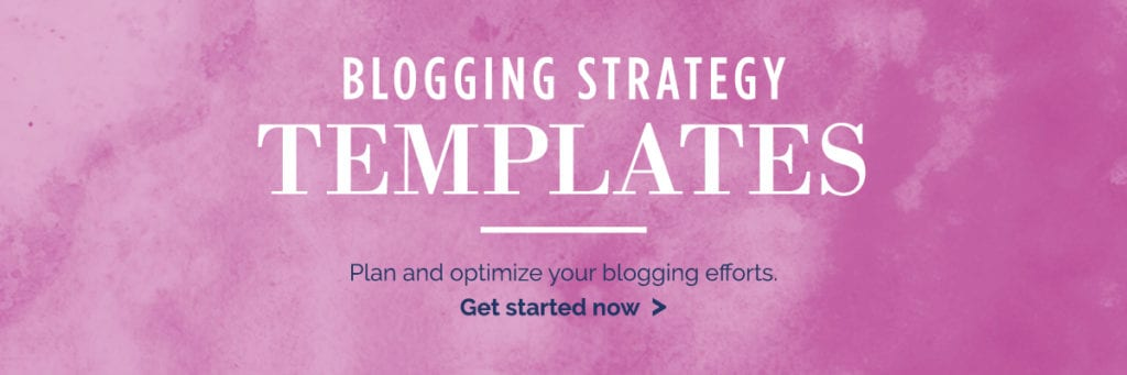 Blogging strategy calendar. plan and optimize your blogging efforts now!