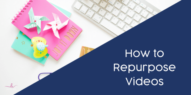 How to Repurpose Videos into many different forms of valuable content - Laura Rike