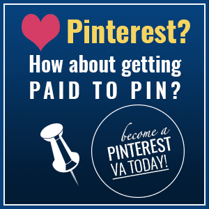 Imagine spending a few hours per week and earning a monthly income of $500-$1,000+. Become a Pinterest VA TODAY! This highly coveted niche is in demand by bloggers and business owners alike. This course will teach you exactly what you need to know to launch your Pinterest virtual assistant biz from scratch.
