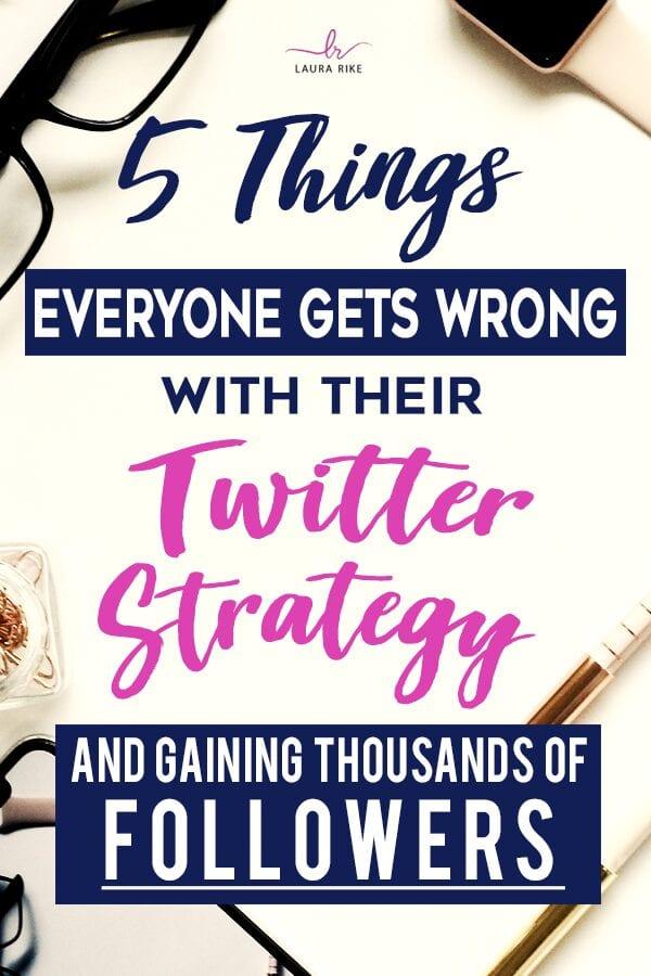 Twitter Strategy