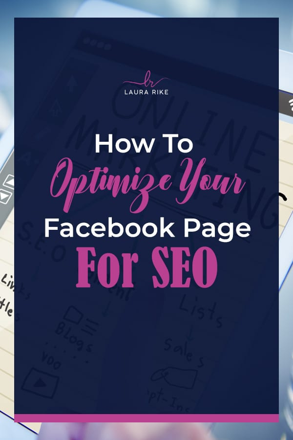 How To Optimize Your Facebook Page For SEO