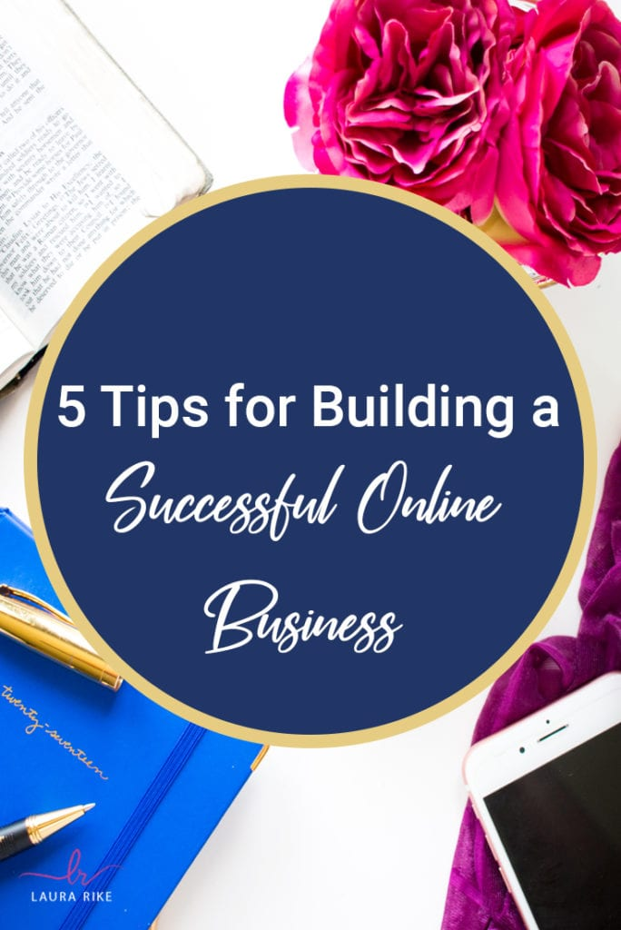 5 Tips for Building a Successful Online Business. It is a good idea to set big goals and dream big but surprisingly, a lot of entrepreneurs and business minded people at various stages in their business development, don't grasp fully what's required to hit those goals. #Pinterest #onlinebusiness #pinterestmarketing
