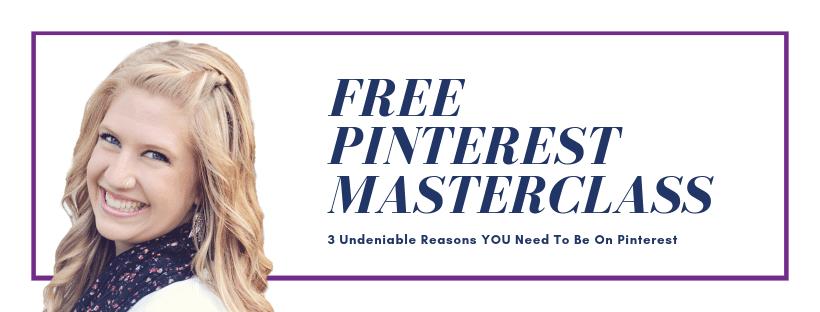 Free Pinterest Masterclass