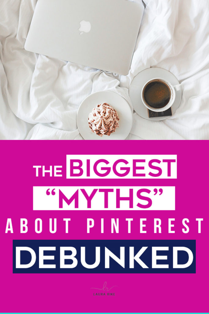 I want to debunk those Pinterest myths and misconceptions for you today, because frankly, some of them just upset me. I want to set the record straight so that you have all the facts, and then can make an educated decision about Pinterest marketing strategy for your business and your niche. So let's get started.