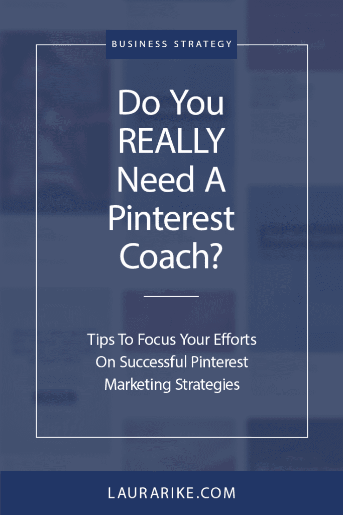 Unsure if you have the right Pinterest marketing strategy? Traffic stall out, or maybe you have great monthly views but no real engagement or traffic? Do you really need a pinterest coach or a pinterest virtual assistant? Lets develop a Pinterest marketing strategy that works for you and your goals! Click here to learn more! #PinterestMarketing #Pinterest #businesscoach #marketingcoach