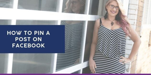 Tips and tricks to help you grow your reach on Facebook! How to pin a post on Facebook to grow your business successfully. #facebookmarketing #socialmediamarketing #socialmediatips #facebooktips