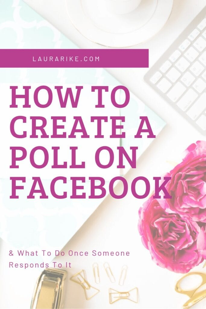 How to create a poll in addition to why you should be creating polls, and how to use it in your marketing strategy.