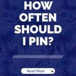How often should IPin?