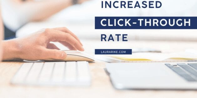 Increased Click-Through Rate