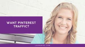 Want Pinterest Traffic?