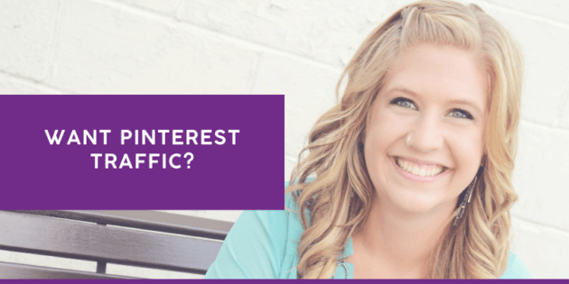 Want Pinterest Traffic?