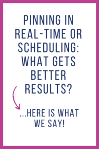 Which One Gets Better Results - Real-Time Pinning or Scheduling?