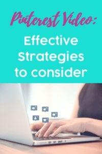 Pinterest Video: Effective Strategies To Consider
