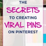 The SECRETS To Creating VIRAL PINS On Pinterest