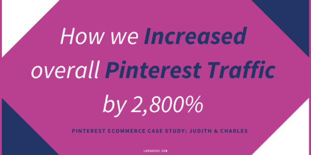 How we increased overall Pinterest Traffic by 2,800%
