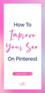 How To IMPROVE YOUR SEO On Pinterest