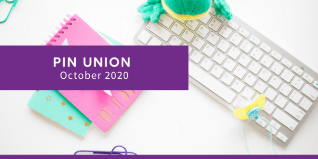 #PinUnion October 2020