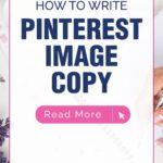 How To Write PINTEREST IMAGE COPY