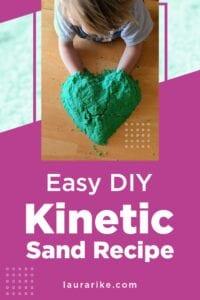 Easy DIY Kinetic Sand Recipe