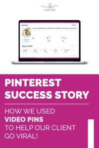 PINTEREST SUCCESS STORY   How We Used Video Pins to Help Our Client Go Viral!