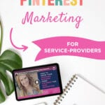 How To Use | PINTEREST MARKETING FOR SERVICE-PROVIDERS