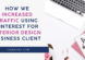 How We Increased Traffic Using Pinterest for Interior Design Business client